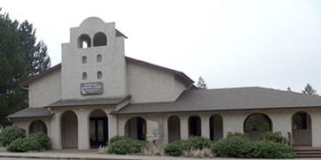 Church Building of Seventh-day Adventist Church in Falls City, Oregon